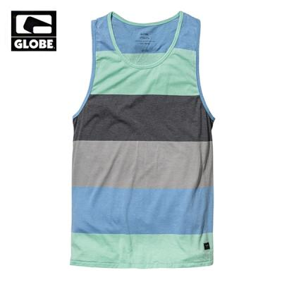 [GLOBE] MOONSHINE SINGLET TANK TOP (MULTI BLUE)