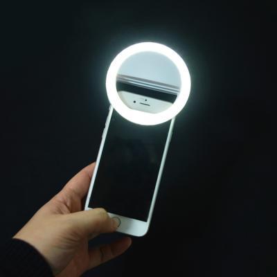 클립 LED 셀카 조명