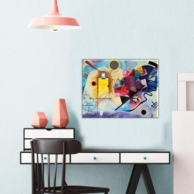 명화 거실인테리어액자 칸딘스키 노랑 빨강 파랑