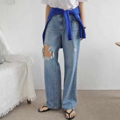 Rosa Mid Rise Loose Fit Jeans