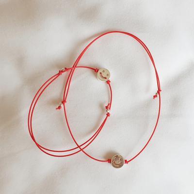 [Set] Smile Bracelet + Anklet - Silver925