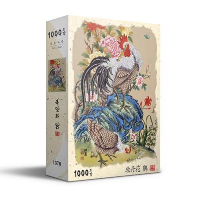 목단화 닭 직소퍼즐 (1000피스/PL1370)