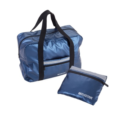 [TROIKA] TRAVEL PACK 접이식가방 블루실버 TRP24/RB