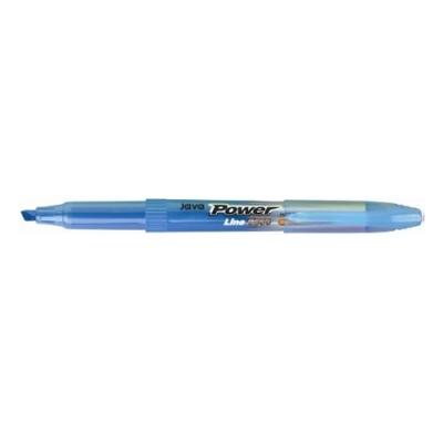 [자바펜] 파워라인형광펜 하늘 [타/12] 147083