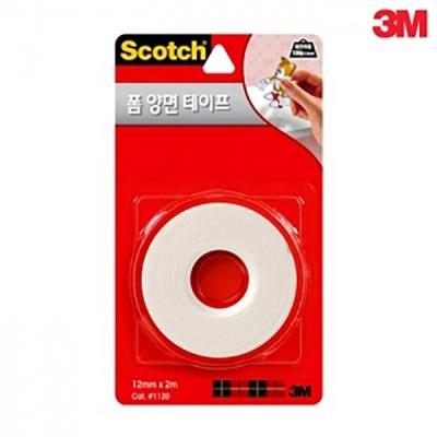 3M 스카치™ 폼 양면 테이프 1120,1215