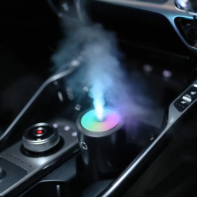 오엘라 무선 RGB조명 차량용 미니가습기 ON-HU12