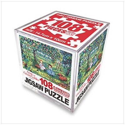 빨강머리 앤 직소퍼즐 미니 큐브 108pcs: 사과밭에서
