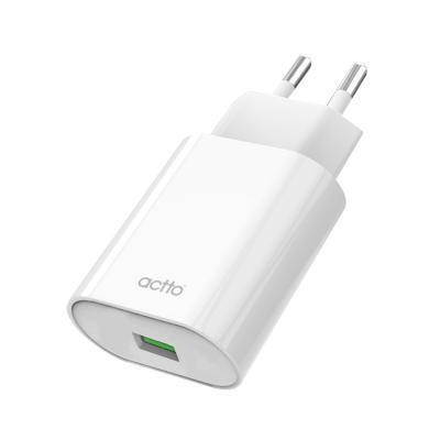 엑토 쏘퀵 QC 3.0 18W USB 가정용 고속 충전기 MTA-23
