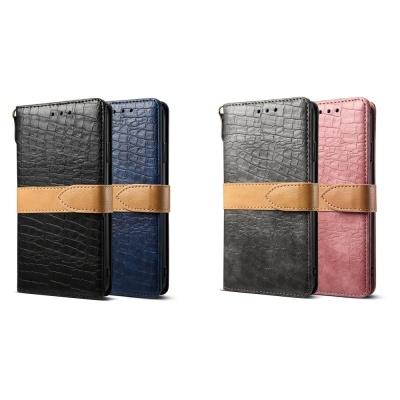 아이폰11 pro max 악어 가죽 카드지갑 스트랩 케이스