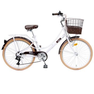 엘리시아 24 7단 클래식 바이크시티형 자전거
