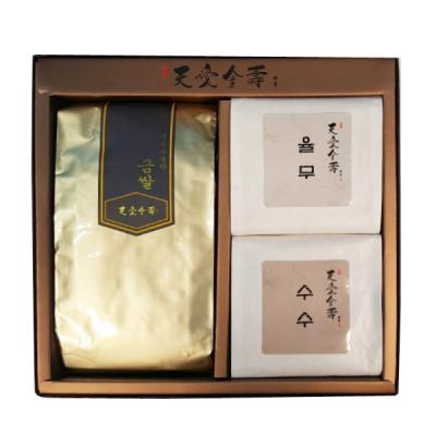 선물세트 토종곡물세트L호(금쌀,율무,수수)