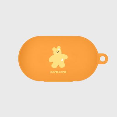 Color bear-orange(buds jelly case)