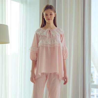 Angel 2단 레이스 투피스잠옷