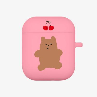 cherry gummy 에어팟 케이스 [pink]