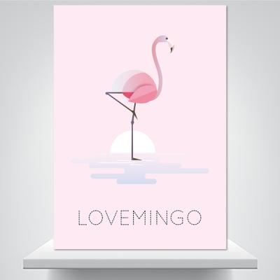 러브밍고 - 감성사진 폼보드 액자