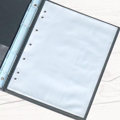 A5-100매..청운그린화일 다공 바인더 비닐 속지 HB144