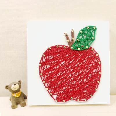 사과 스트링아트 만들기 패키지 DIY (EVA)