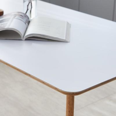 [리비니아]HPM 크리미 원목 테이블 1200 1500 1800