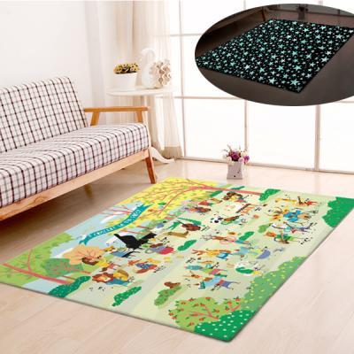 굿나잇 놀이방 야광매트 소형 100x150 숲속음악회