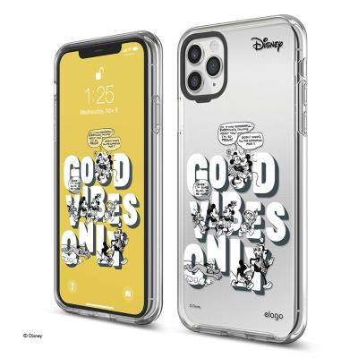 정품 디즈니에디션 아이폰 케이스-GOOD VIBES ONLY