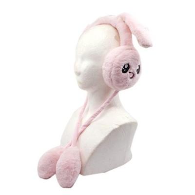 토끼 귀마개 핑크