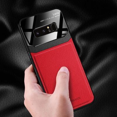 갤럭시노트10 + 9 8 투톤 컬러 가죽 스킨 범퍼 케이스