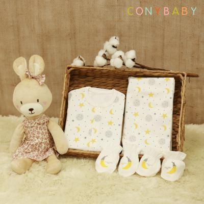 [CONY]신생아선물6종세트(달과별+베순애착인형)