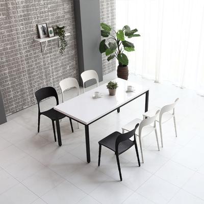 M62611 1400 스틸 카페 테이블