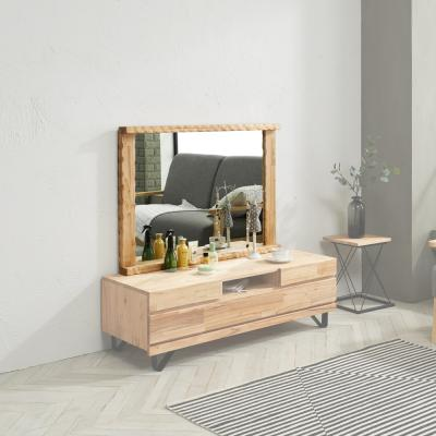 칸트 원목 일자형 거울