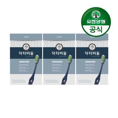 [유한양행]닥터버들 복합미세모 칫솔 6입 3개