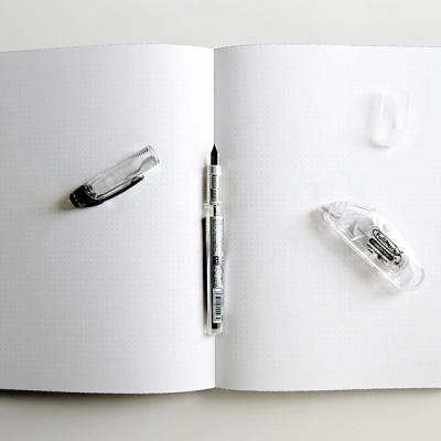 플래티넘 프레피 만년필 3개+수정테이프 가성비 세트