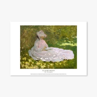 명화 포스터 갤러리 액자 073 Claude Monet Springtime 클로드 모네