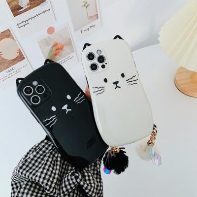 아이폰 12 11 미니 pro max 커플 고양이 키링케이스