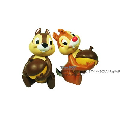 [Disney Mini Figure World]Chip Dale with Acorns(칩앤데일)