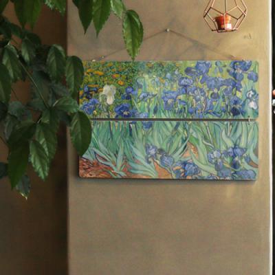 nl225-멀티아크릴액자_빈센트반고흐붓꽃(2단대형)