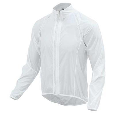 MCN slim fit 바람막이 자켓 WHITE CH1664303