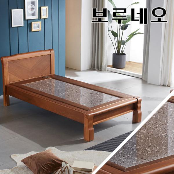 [랜선할인]모닝듀 온열 맥반석 돌침대 싱글 YS301S