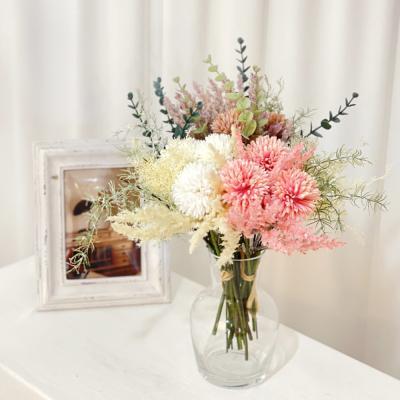 고속터미널꽃시장 국화믹스 37cm 시들지않는꽃