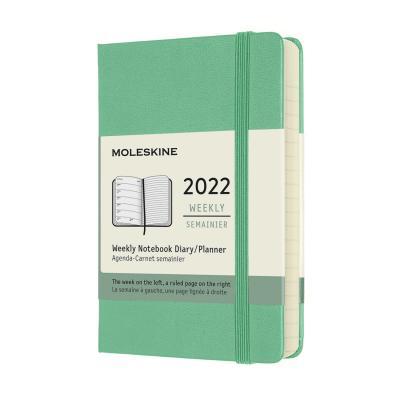 [몰스킨]2022위클리/아이스그린 하드 P