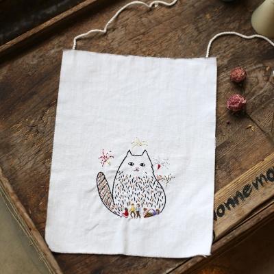 걸리버 고양이 자수 가랜드 DIY KIT