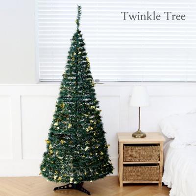 3초 뚝딱! 트윙클 트리-그린 180cm/크리스마스 트리