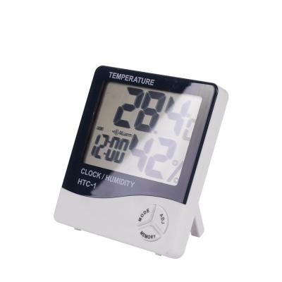 디지털 온도계 습도계 / 사각 온습도계 시계 LCNA121