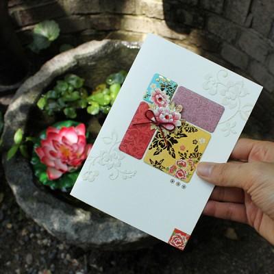 꽃이 피어나 카드 / 020-SG-0060