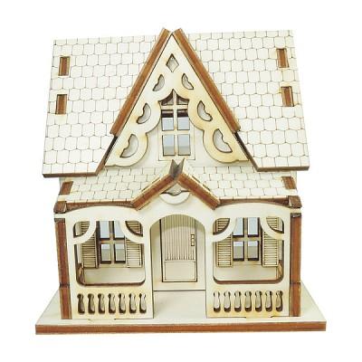 인형의 집 만들기 뾰족지붕 다락방집 만들기 키트 ARCH2015007
