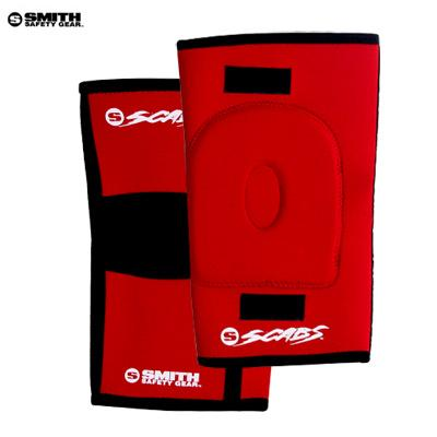[SMITH] SCABS KNEE GASKET HORSESHOE PADS (Red)
