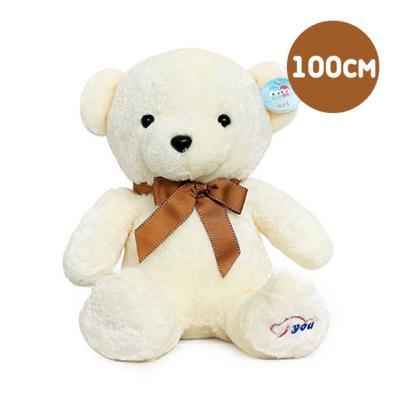동글이 베어인형 아이보리-왕(100cm)