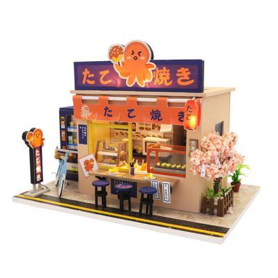[adico]DIY 미니어처 하우스 - 타코야끼