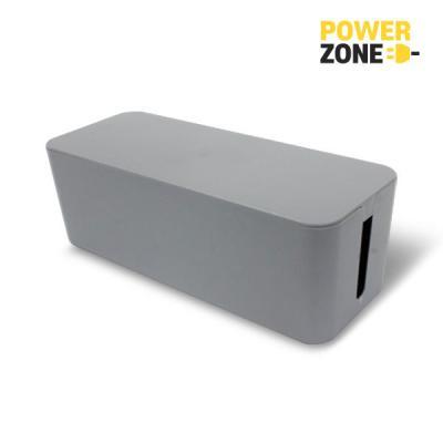 [파워존] 케이블박스 멀티탭전선/대형/그레이