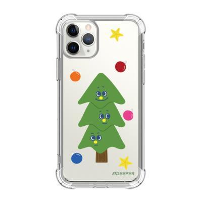 뮤즈캔 ADEEPER 아이폰 11 프로 트리 스티커 케이스