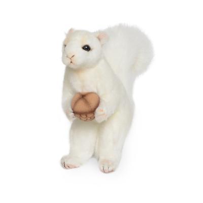 7742-흰다람쥐 동물인형 18cm.H
